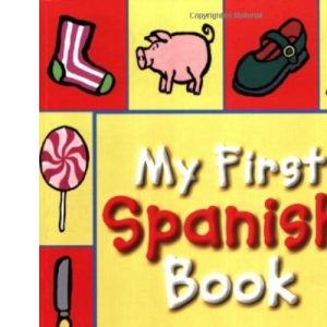 My First Spanish Book: A Bilingual Introduction to Words, Numbers, Shapes and Colours