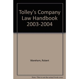 Tolley's Company Law Handbook 2003-2004