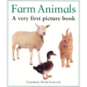 Farm Animals (Very First Picture Book)