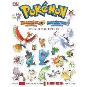 Pokemon HeartGold & SoulSilver Ultimate Sticker Book (Pokémon)