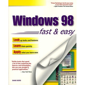 Windows 98 Visual Learning Guide (Fast & Easy (Living Language Paperback))