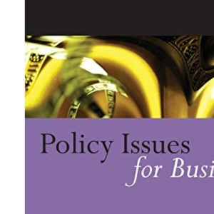 Policy Issues for Business: A Reader (Published in association with The Open University)