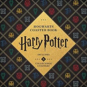 Harry Potter Hogwarts Coaster Book: Gryffindor, Ravenclaw, Hufflepuff, Slytherin