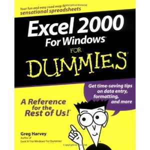 EXCEL 2000 for Windows For Dummies (For Dummies S.)