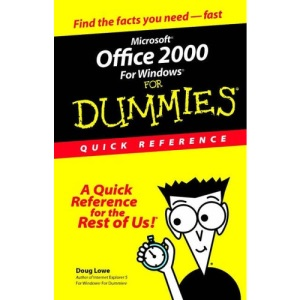 Microsoft Office 2000 for Windows for Dummies Quick Reference