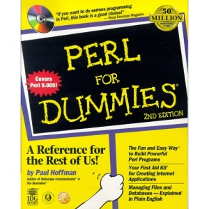 Perl For Dummies (For Dummies S.)