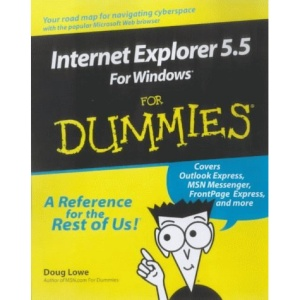 Internet Explorer 5.5 for Windows for Dummies