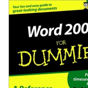 Word 2002 For Dummies (For Dummies S.)