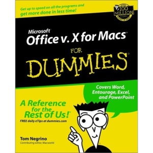 Microsoft Office V.10 for Macs for Dummies