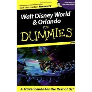 Walt Disney World and Orlando for Dummies 2004