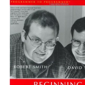 Beginning Access 2000 VBA (Programmer to Programmer)