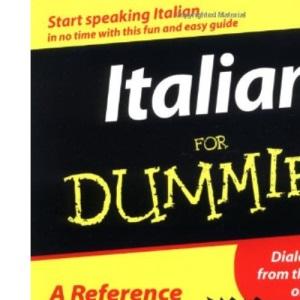 Italian For Dummies (For Dummies S.)