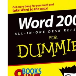 Word 2003 All-in-One Desk Reference for Dummies (For Dummies (Computers))