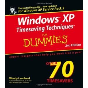 Windows XP Timesaving Techniques for Dummies
