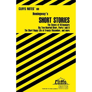 Hemingway's Short Stories (Cliffs Notes)