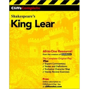 King Lear: Complete Study Edition (Cliffs Notes)