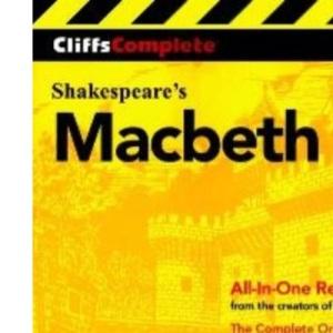Macbeth: Complete Study Edition (Cliffs Complete)