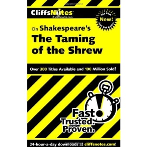 CliffsNotes The Taming of the Shrew (Cliffs Notes S.)