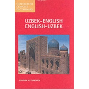 Uzbek-English, English-Uzbek Dictionary (Hippocrene Concise Dictionaries)