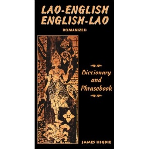 Lao-English/English-Lao Dictionary and Phrasebook (Dictionary & Phrasebook)