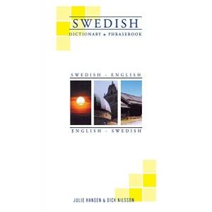 Swedish-English/English-Swedish Dictionary and Phrasebook (Hippocrene Dictionary & Phrasebooks)