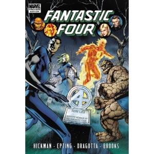 Fantastic Four by Jonathan Hickman Volume 4 (Fantastic Four (Marvel Hardcover))