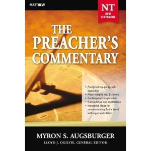 Matthew (Preacher's Commentary)