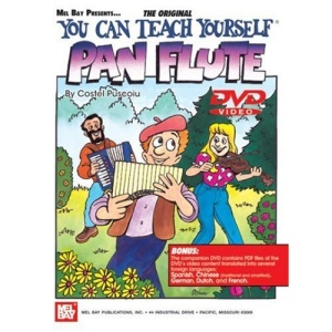 YOU CAN TEACH YOURSELF Pan Flute BK/DVD