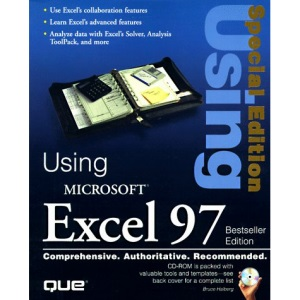 Using Microsoft Excel 97 Special Edition: Best Seller Edition (Special Edition Using)
