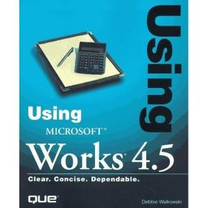 Using Microsoft Works 4X (Using Series)