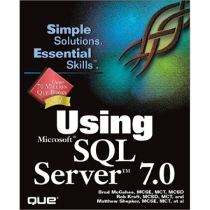 Using Microsoft SQL Server 7