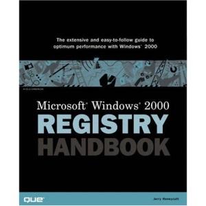 Windows 2000 Registry Handbook (Using)