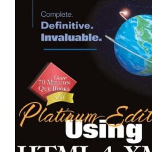 Platinum Edition Using HTML 4, XML and Java 1.2