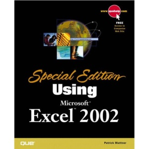 Using Microsoft Excel 2002 (Special Edition)