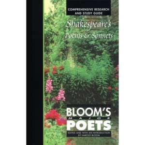 Shakespeare's Poems and Sonnets (Bloom's Major Poets)