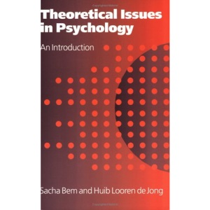 Theoretical Issues in Psychology: An Introduction