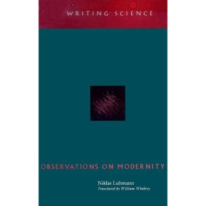 Observations on Modernity (Writing Science)