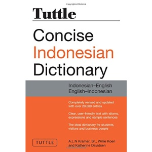 Tuttle Concise Indonesian Dictionary: Indonesian-English English-Indonesian (Dictionary)