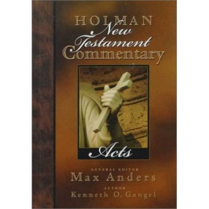 HOLMAN NT COMMENTARY VOL. 5 ACTS (Holman New Testament Commentary)