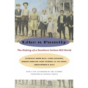 Like a Family: The Making of a Southern Cotton Mill World (Fred W.Morrison Series in Southern Studies)
