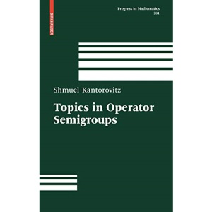 Topics in Operator Semigroups: 281 (Progress in Mathematics)