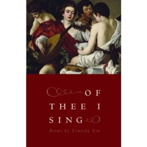 Of Thee I Sing (Contemporary Poetry) (Contemporary Poetry Series)
