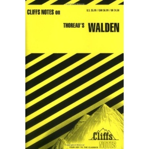 Notes on Thoreau's Walden (Cliffs notes)