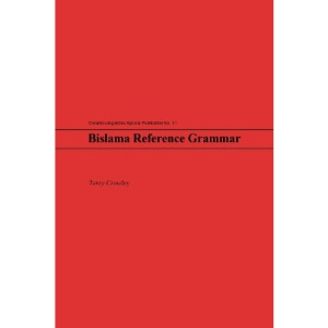 Bislama Reference Grammar (Oceanic Linguistics Special Publication)