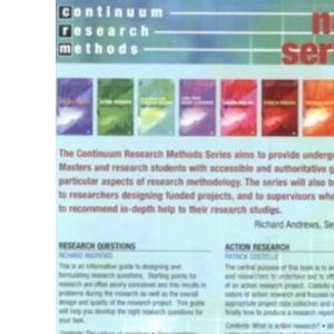 Research Questions (Continuum Research Methods Series)