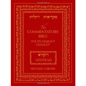The Commentators' Bible: The JPS Miqra'ot Gedolot - Leviticus