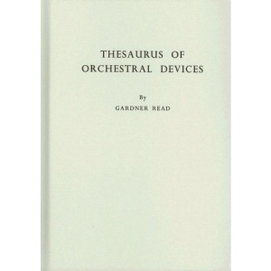 Thesaurus of Orchestral Devices