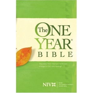 One Year Bible-NIV: Entire Bible Arranged in 365 Daily Readings