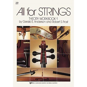 All For Strings Theory Book 1: Violin