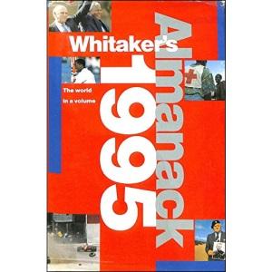 Whitaker's Almanack: 127th annual edition. Standard edition